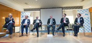 Podiumsdiskusion in Hannover