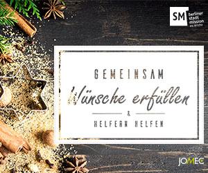 JOMEC Weihnachtsaktion für die Berliner StadtMission