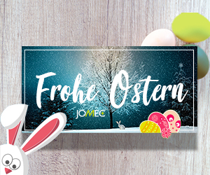 Das JOMEC Team wünscht Ihnen frohe Ostern