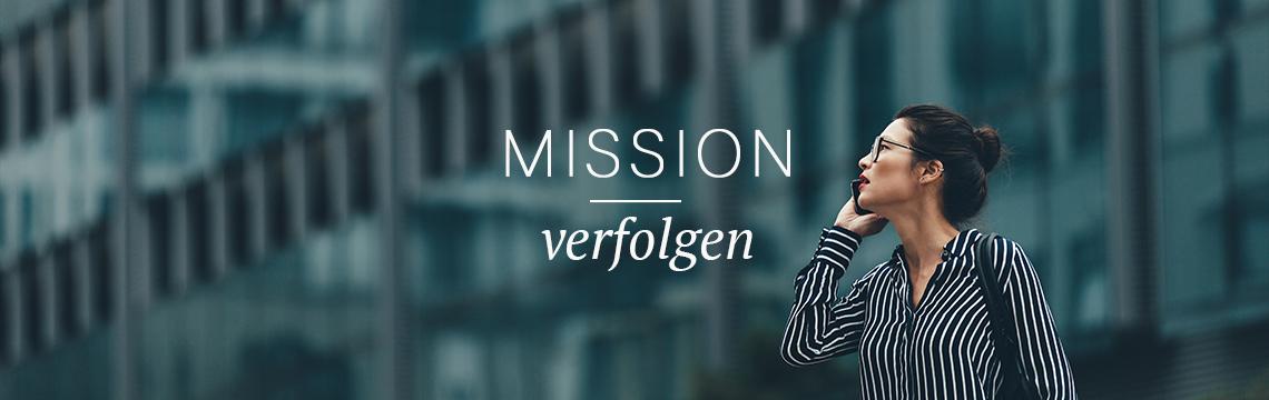 Eine Mission verfolgen - den Spirit finden und leben