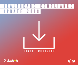 JOMEC Workshop | Healthcare Compliance 2018
