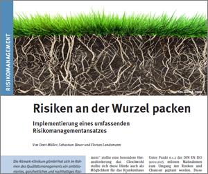 Risikomanagement - Risiken an der Wurzel packen