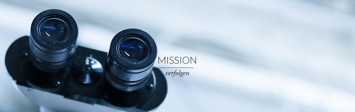 Mission verfolgen - Mission und Compliance, Werte leben