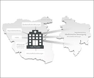 Sole-Provider: Krankenhäuser in peripheren Räumen