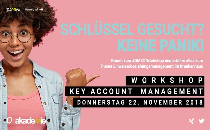 JOMEC Workshop | Schlüsselkunden und Benefitstrategien