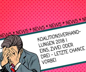 Koalitionsverhandlungen 2018