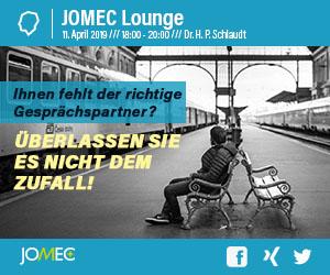 JOMEC Lounge April