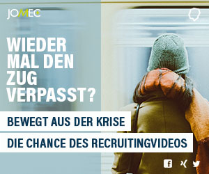 Die Chance des Recruitingvideos